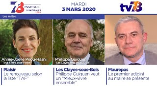 7/8 Politique : Municipales 2020. Emission du 3 mars 2020