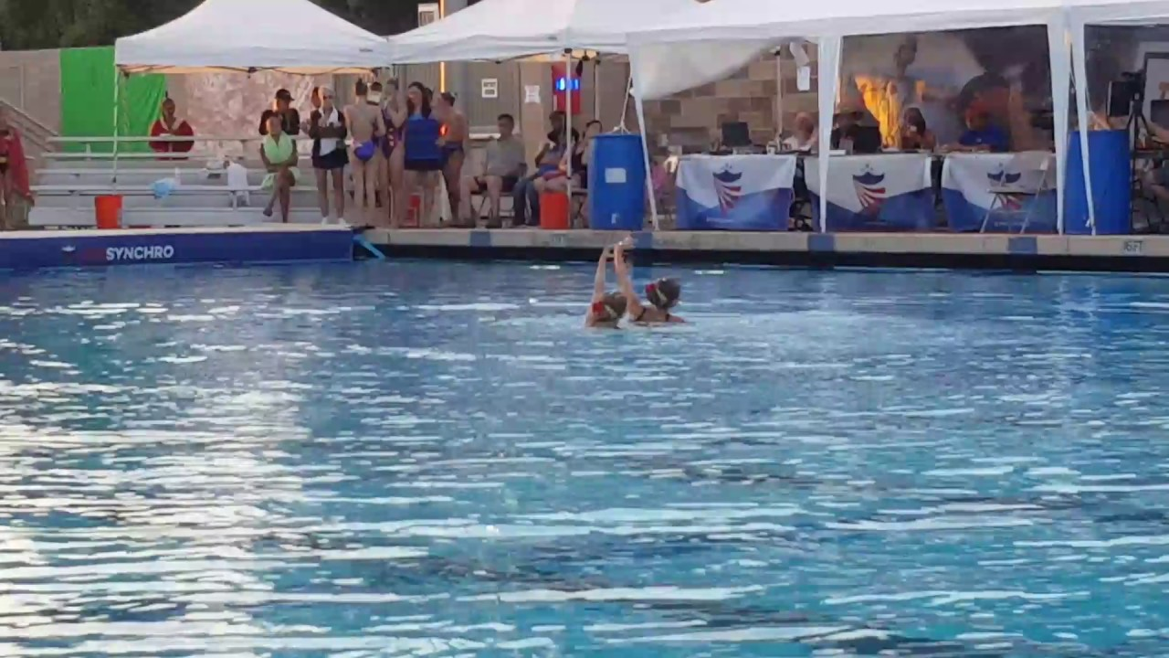 2017 Junior Olympics 12 U Duet Swim