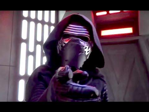 Kylo Ren meet-and-greet in Star Wars Launch Bay at Disneyland