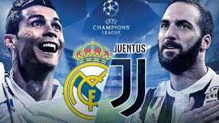 REAL MADRID VS JUVENTUS UCL WATCHALONG LIVE STREAM!