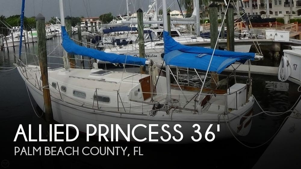 [UNAVAILABLE] Used 1975 Allied Princess 36 Ketch in Palm Beach Gardens,  Florida