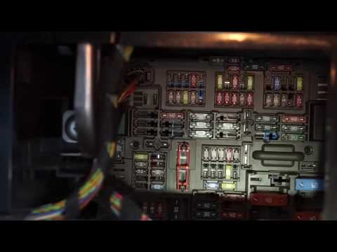 2007 BMW 335i E92 Fuse box location - YouTubeYouTube