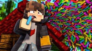 """Minecraft: DESAFIO DA BASE 100% SEGURA TSUNAMI DE TICOLE! """" ta comendo ticole"""""""