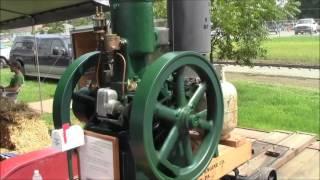Bessemer Vertical 8 HP Engine At Pinckneyville