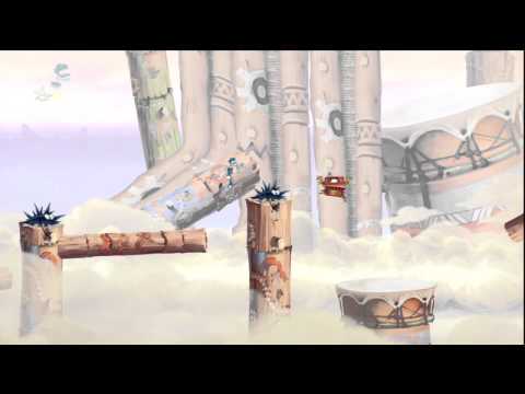 Rayman: Origins, The Jaw! Trophy Guide: Cacophonic Chase Skull Tooth #2