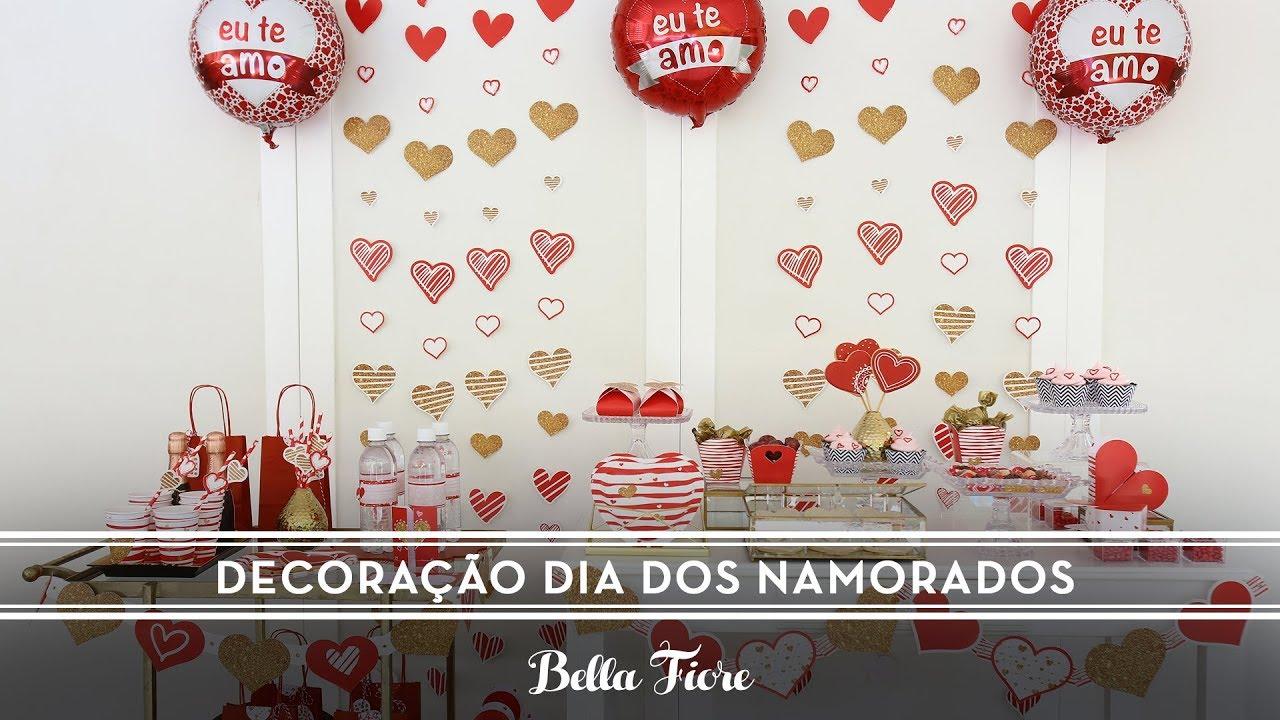 Decoraç u00e3o para o Dia dos Namorados Surpreenda com uma festa tema Coraç u00e3o YouTube