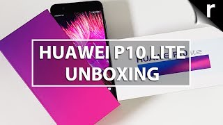 Huawei P10 Lite Unboxing & Hands-on Review