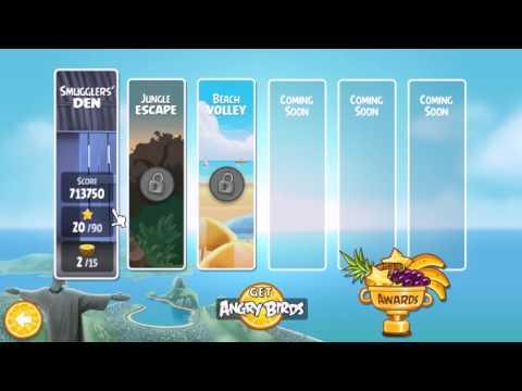 Angry Bird Rio Trailer Gameplay 2011