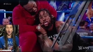WWE Smackdown 8/8/17 Usos call out The New Day