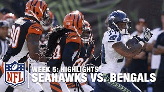 Seahawks vs. Bengals | Week 5 Highlights | NFL