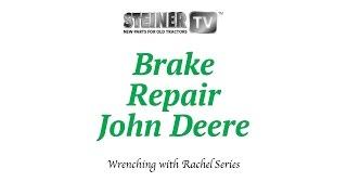 Brakes on John Deere