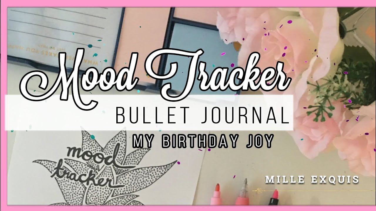 graphic about Free Mood Tracker Printable identified as How I attract my Temper Tracker +Cost-free PRINTABLE kikki.K Bullet Magazine Planner Set up My Birthday Happiness