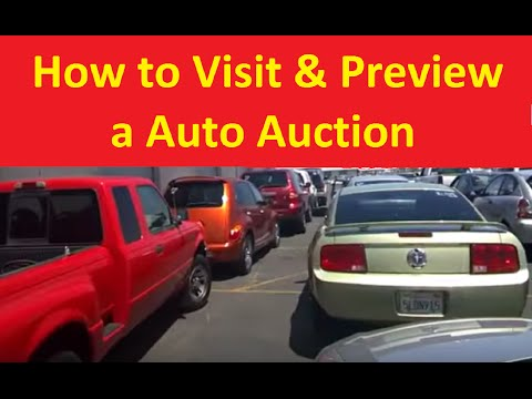How To Preview Car Auctions Dealer Auto Auction Walkaround Part #1