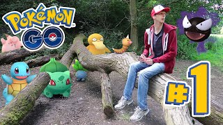 POKEMON GO - CATCHING ALL THE POKEMANS!!! | Ep1