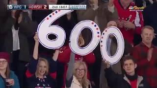 600-й гол Овечкина в НХЛ
