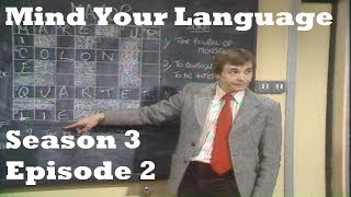 Mind Your Language Season 3 Episode 2 Who Loves Ya Baby? | Funny TV Show (GM)