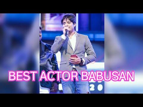 ODIA FILMFARE AWARD 2018 || BABUSAN BEST ACTOR
