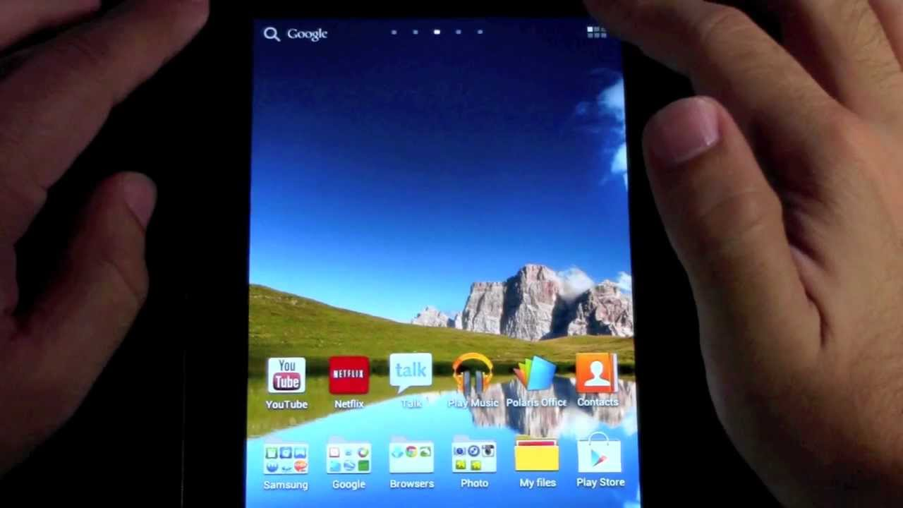 How To Delete An App On The Samsung Galaxy Tab 2 (70)