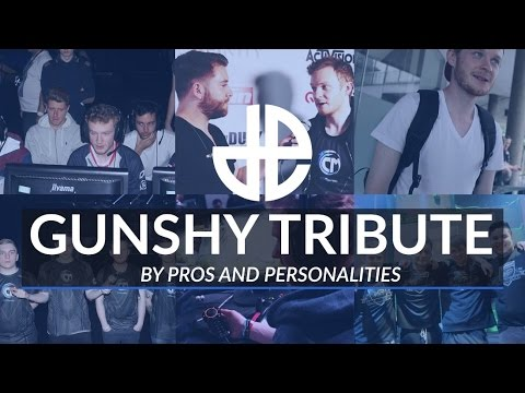 Gunshy Tribute By Pros and Personalities
