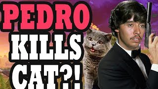 Pedro Kills a Cat?! | Fortnite Battle Royale