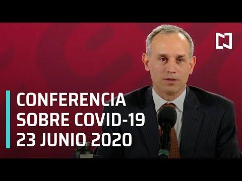 Conferencia Covid-19 México - 23 junio 2020