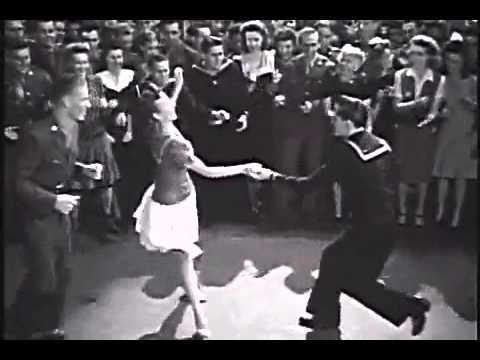 7d3646fb6559 Swing Out! 1940s Dancing - YouTube