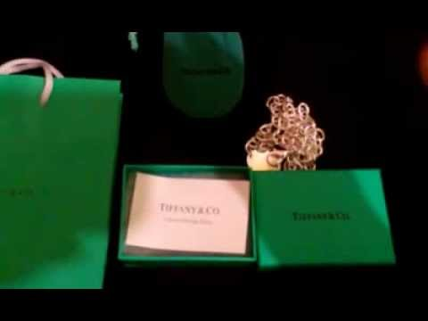 9b927f1249b How to Spot Fake TIFFANY   CO. Necklace - YouTube