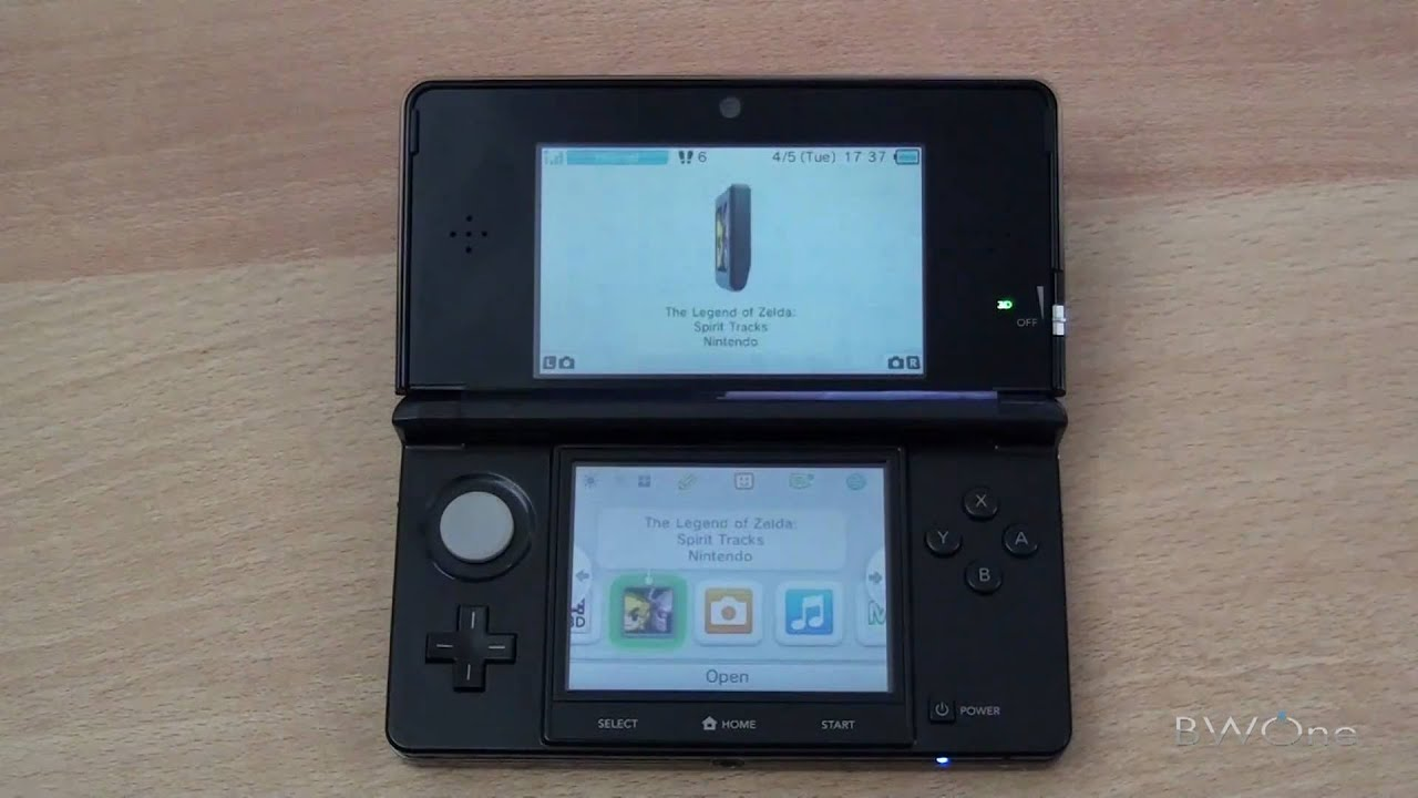 Playing DS Games On The Nintendo 3DS - YouTube