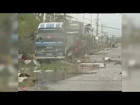 Typhoon Haima Slams Into Philippines