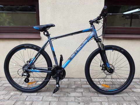 Обзор велосипеда Stels Navigator 630 MD 26 K010 Антрацитовый/синий