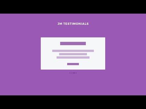 Free Testimonials module for Joomla