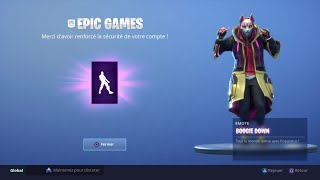 HOW TO ENABLE AUTHENTICATION AND UNLOCK THE BOOGIE DOWN ON FORTNITE DANCE!