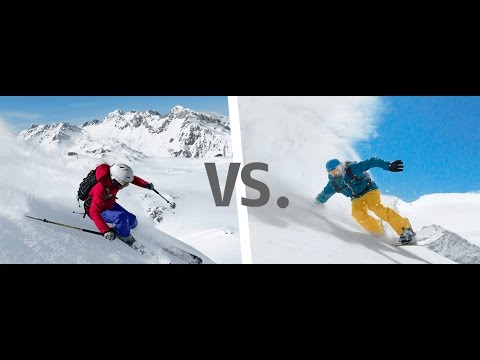 Ski or Snowboard, which one is better?