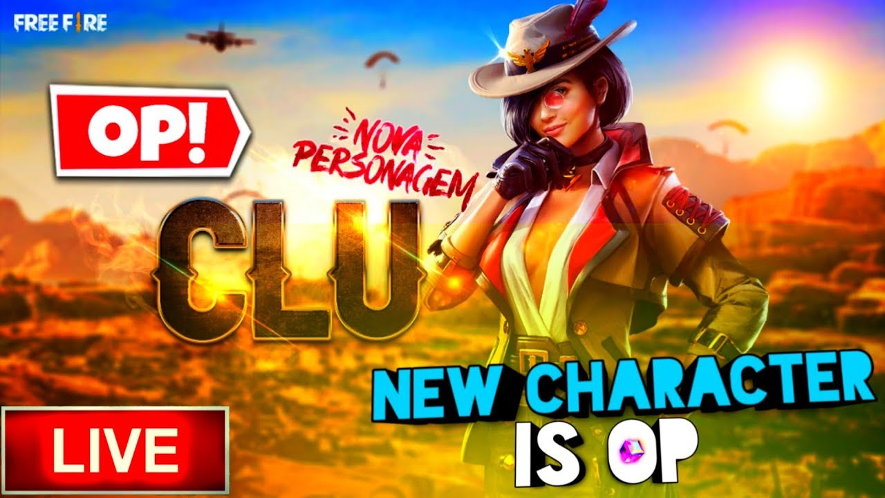 🔥 CLU IS OP 🔥 NEW CHARACTER TOP UP 🔥FREE FIRE LIVE 🔴 #BRIGHTINDIANGAMERS #BIGLIVE