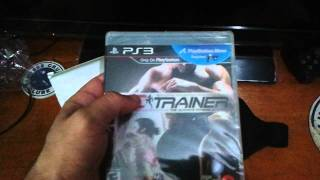 UFC Personal Trainer PS3 Move Unboxing Brasil