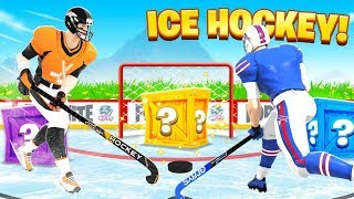 ICE HOCKEY For Loot in Fortnite!