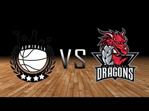 MLBA Vancouver Dragons Vs Kitsap Admirals 04/07/2018