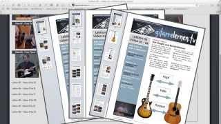gitarrelernen.tv • Kleiner Trip durch die Webseite