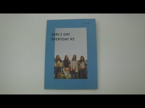 Unboxing Girl's Day 걸스데이 5th Mini Album Everyday #5