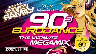 90s Eurodance - The Ultimate Megamix (2021 Edition)