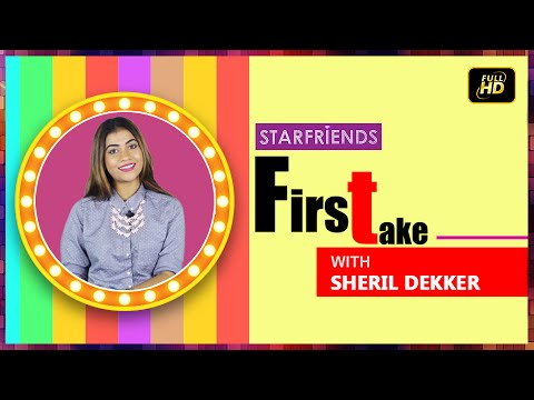 Sheril Dekker with Starfriends First Take