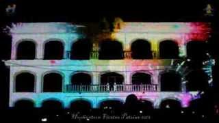 Huehuetoca video mapping Fiestas Patrias 2013