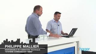 Les nouvelles solutions domotiques KNX Hager