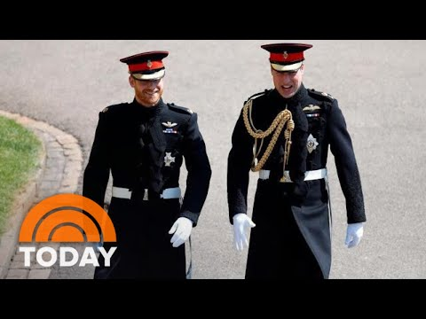 Royal Wedding: Prince Harry, Prince William Enter St. Georges Chapel | TODAY