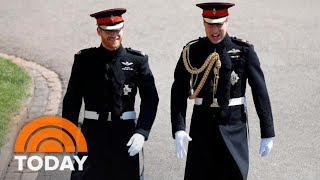 Royal Wedding: Prince Harry, Prince William Enter St. George's Chapel | TODAY