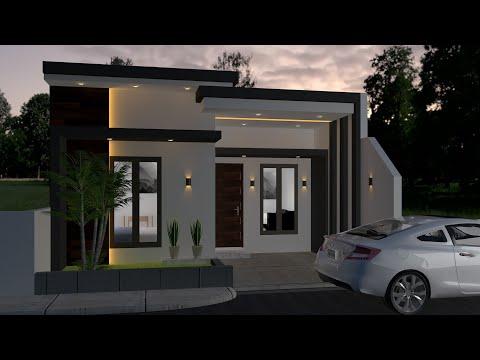 50 Desain Rumah Luas Tanah 74 Meter Terbaru Rezanesia Com