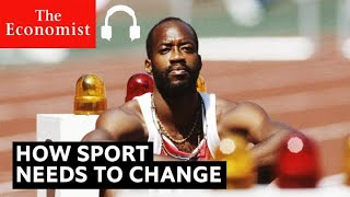 Olympic champion Edwin Moses on covid-19, race and trans athletes | The Economist Podcasts