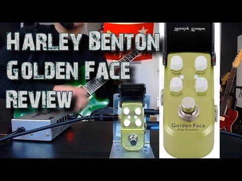 HARLEY BENTON GOLDEN FACE Amp Simulator ( Review )