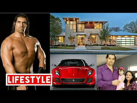 The Great khali Net Worth, Salary, House, Car, Family and Luxurious Lifestyle |2017