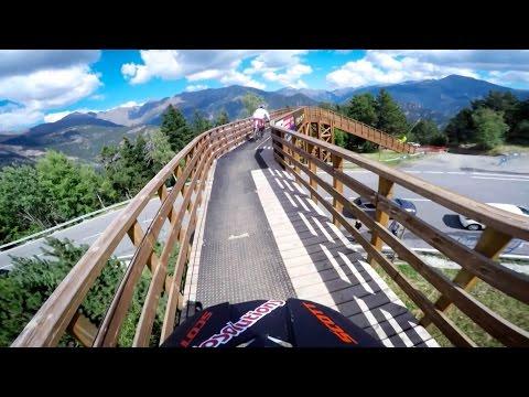 Cl Caluori Ps Andorra w Current World Champ Loic Bruni  UCI MTB World Cup 2016
